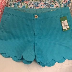 """Lilly Pulitzer Shorts 5""""inseam buttercup"""